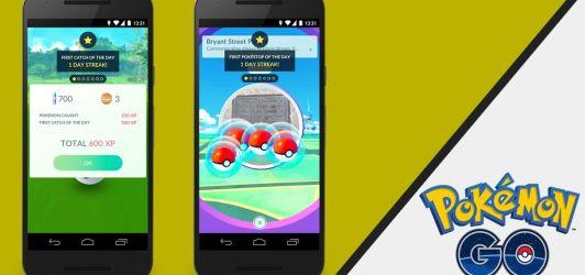 Pokémon GO se actualiza con recompensas diarias