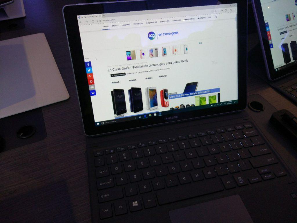 Samsung apuesta con la Galaxy Tab S3 y el Galaxy Book galaxy tab s3 galaxy book mwc 2017 ecg