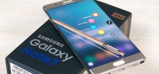 Galaxy Note 7 reacondicionados