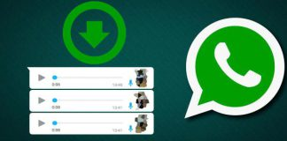 Descargar los audios de WhatsApp en formato mp3