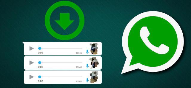 Descargar los audios de WhatsApp en formato mp3