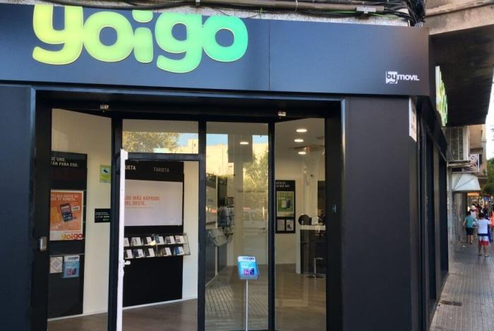 Tarifas móviles Yoigo: Tienda Yoigo