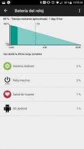 Huawei Watch 2 batería