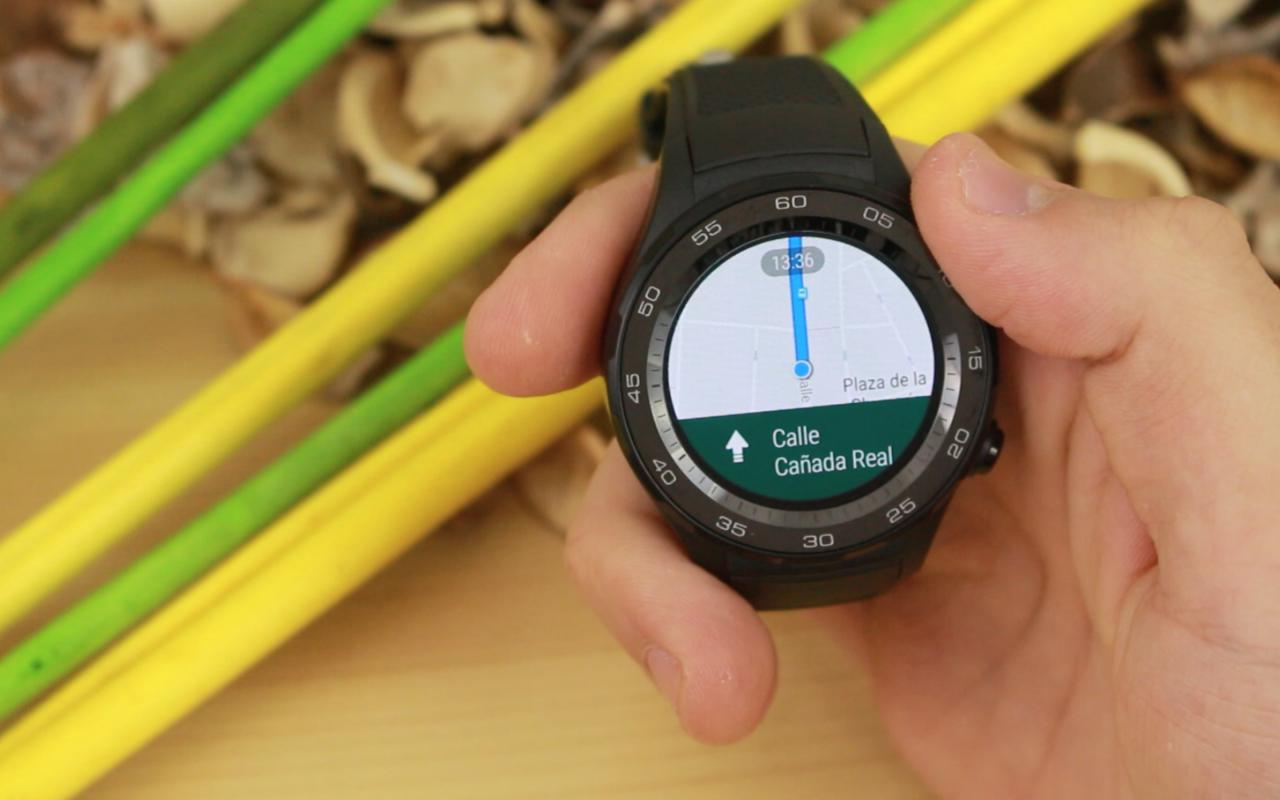 Huawei Watch 2 Google Maps