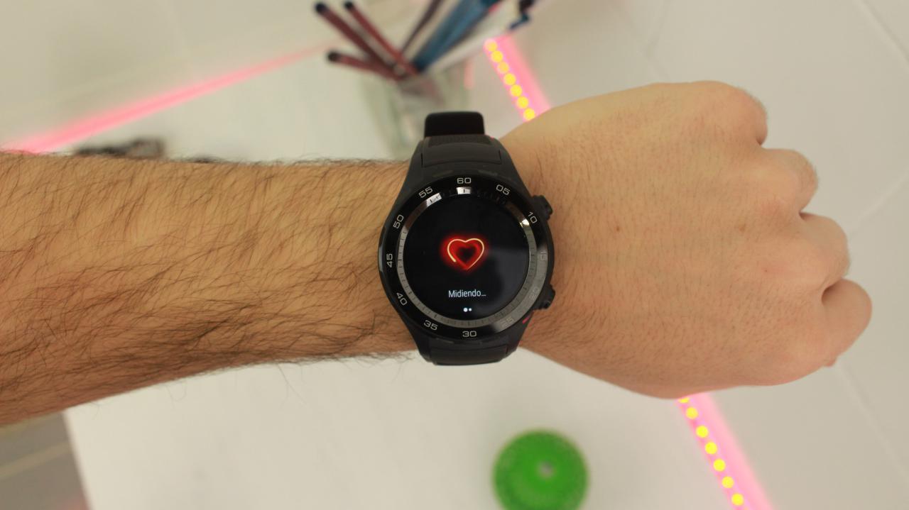 Huawei Watch 2 sensor ritmo cardíaco