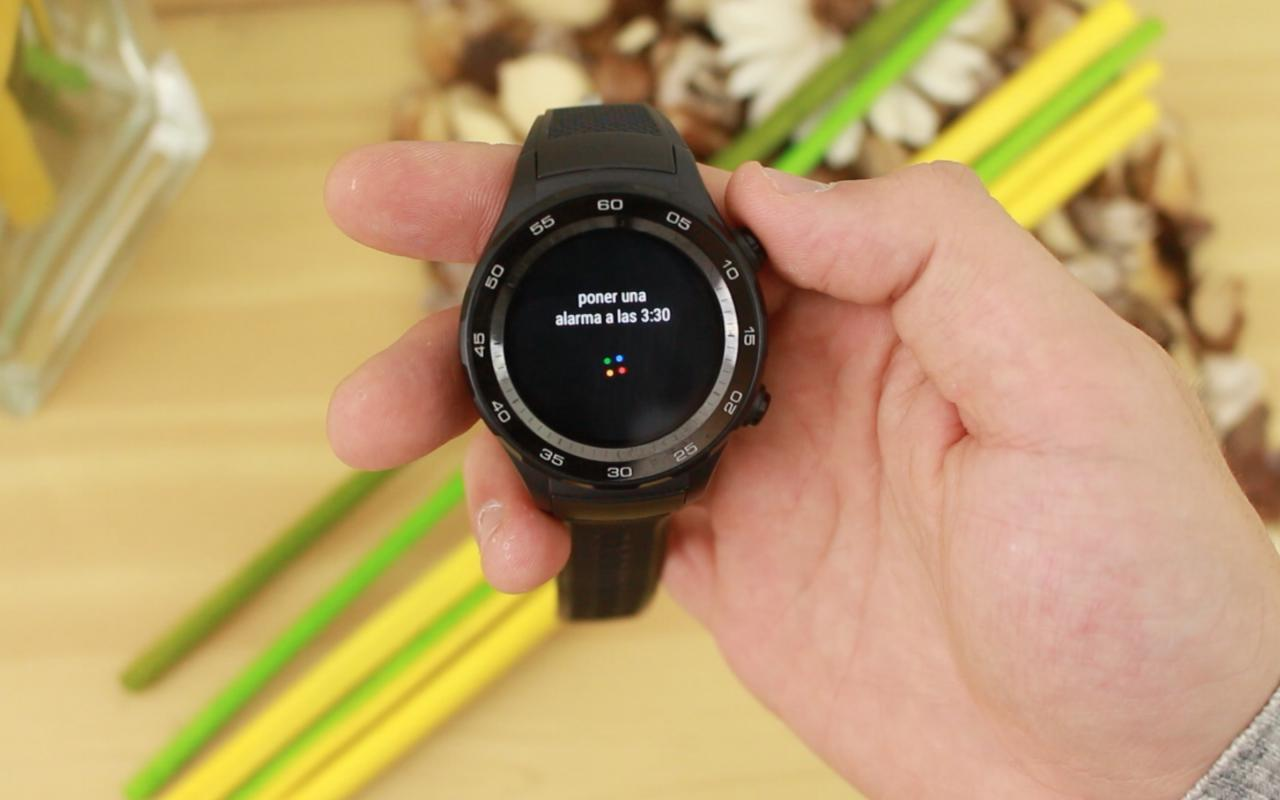Huawei Watch 2 Google Now