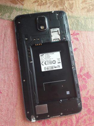 Batería de un Samsung Galaxy Note 3 explota: Samsung Galaxy Note 3