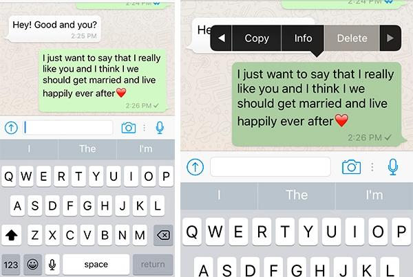 anular los mensajes enviados whatsapp iphone