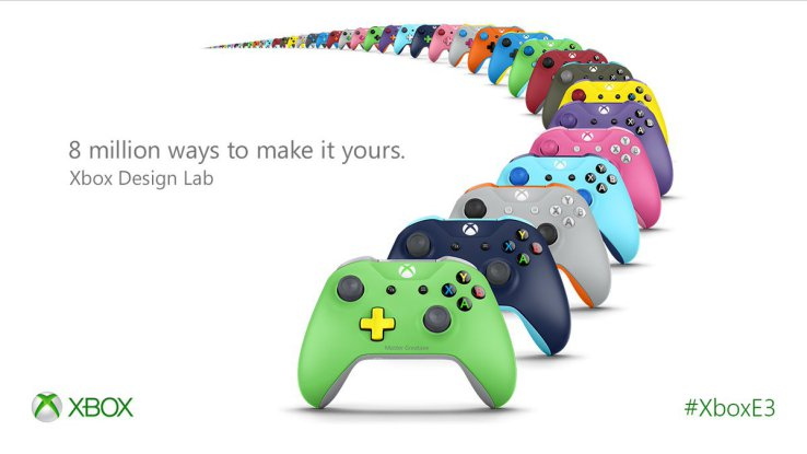 Xbox Design Lab: Multiples configuraciones con Xbox Design Lab