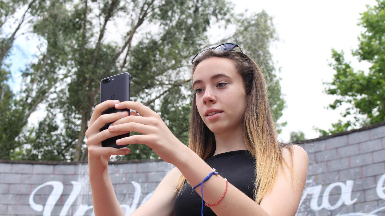 OnePlus 5 selfie