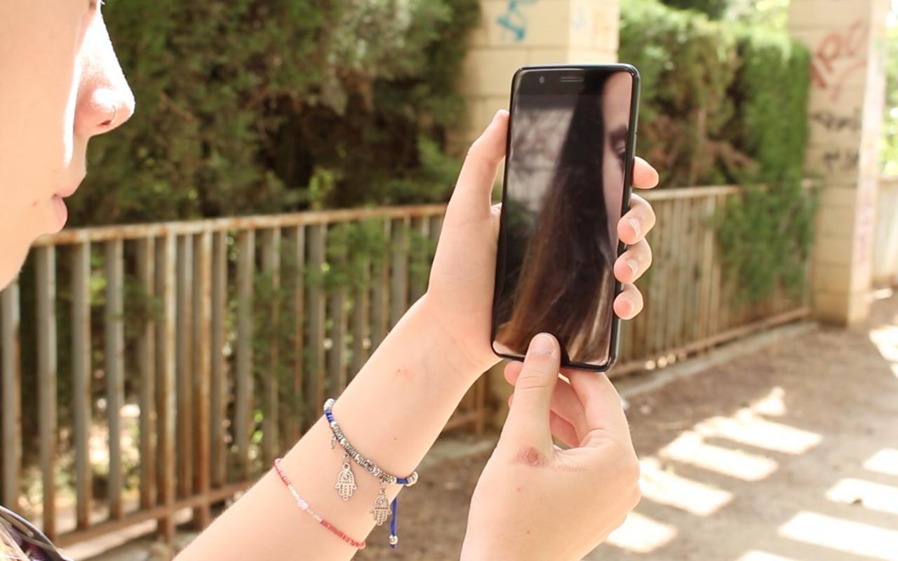 OnePlus 5 lector de huellas