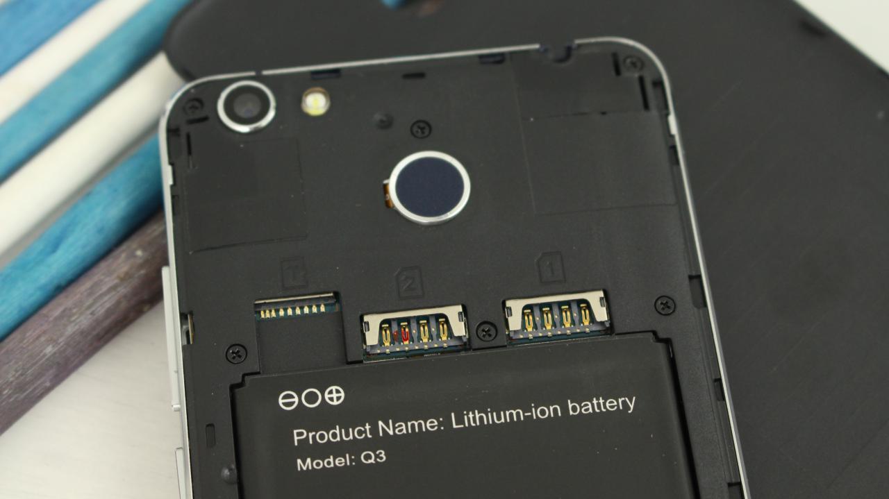Ukozi Q3 slot microsd