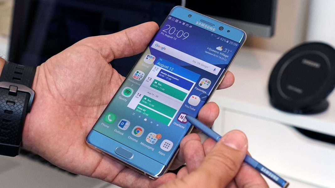 posible fecha de presentación: Galaxy Note 7 Azul