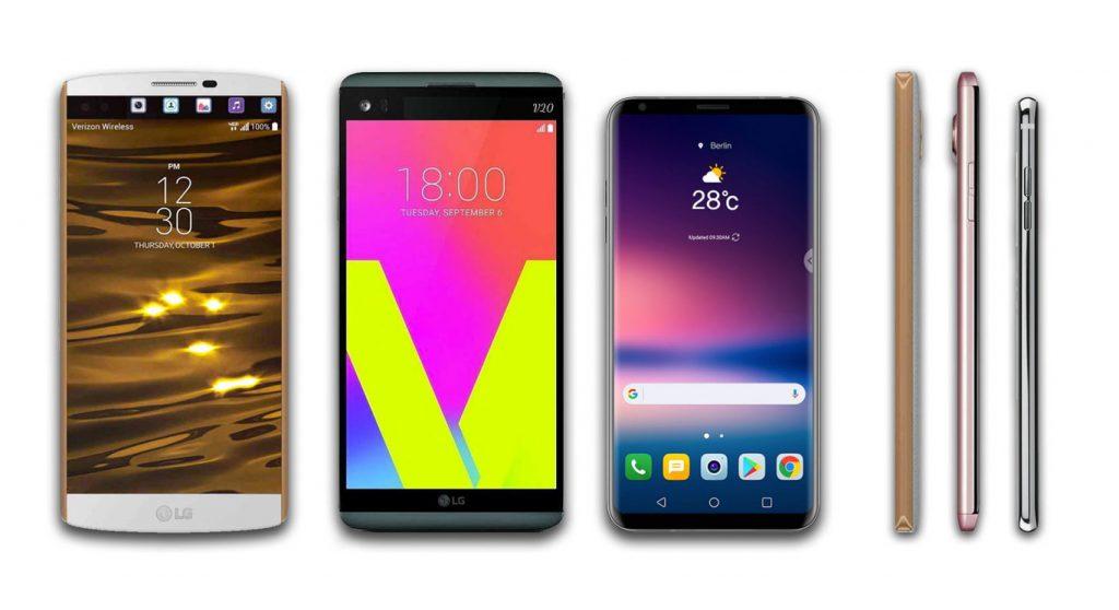 Presentación del LG V30: LG V10 vs LG V20 vs LG G30