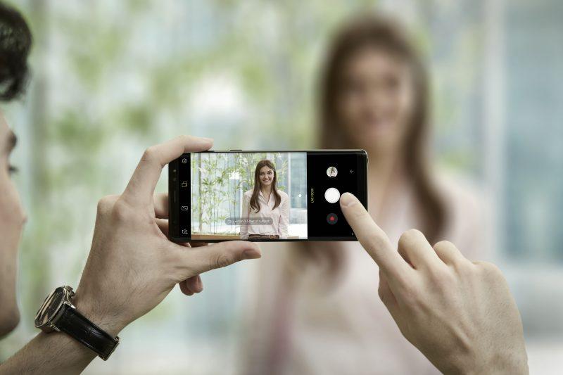 Presentación del Samsung Galaxy Note 8: cámara del Samsung Galaxy Note 8