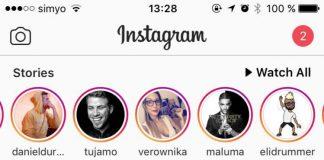 ver y descargar las historias de Instagram en nuestro PC: historias de Instagram en iOS