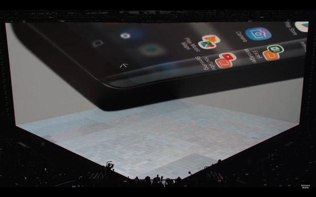 Presentación del Samsung Galaxy Note 8: pantalla del Samsung Galaxy Note 8