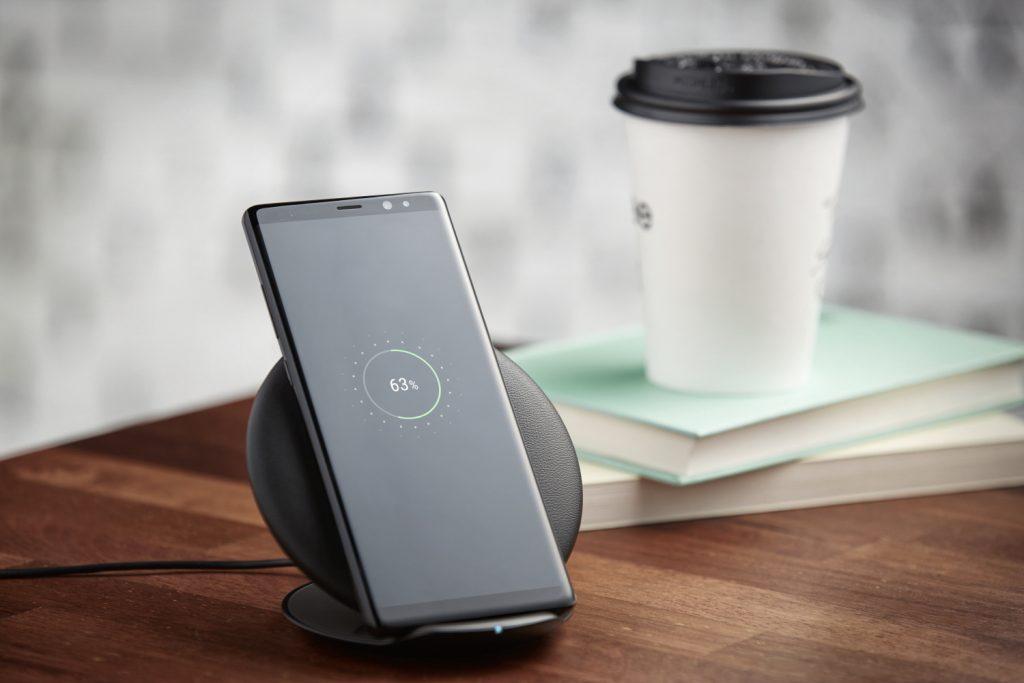 Presentación del Samsung Galaxy Note 8: Samsung Galaxy Note 8 cargando