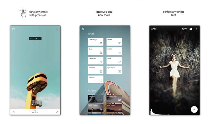 5 apps de edición fotográfica snapseed