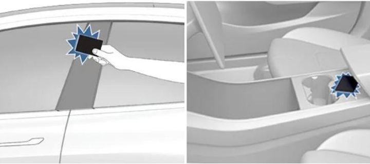 Tesla Model 3: Apertura y bloqueo