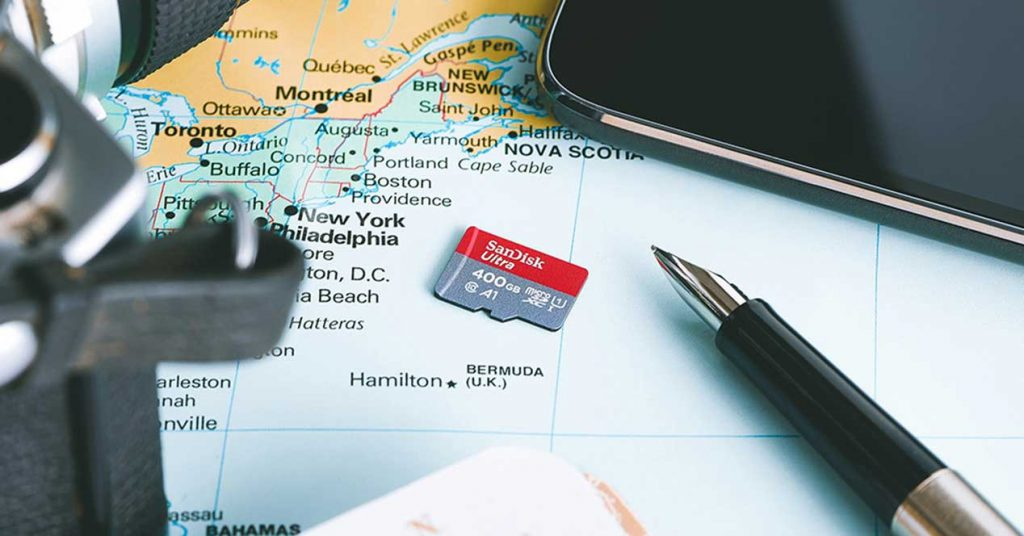 La tarjeta microSD con 400 GB de espacio: SanDisk Ultra microSDXC UHS-I de 400 GB