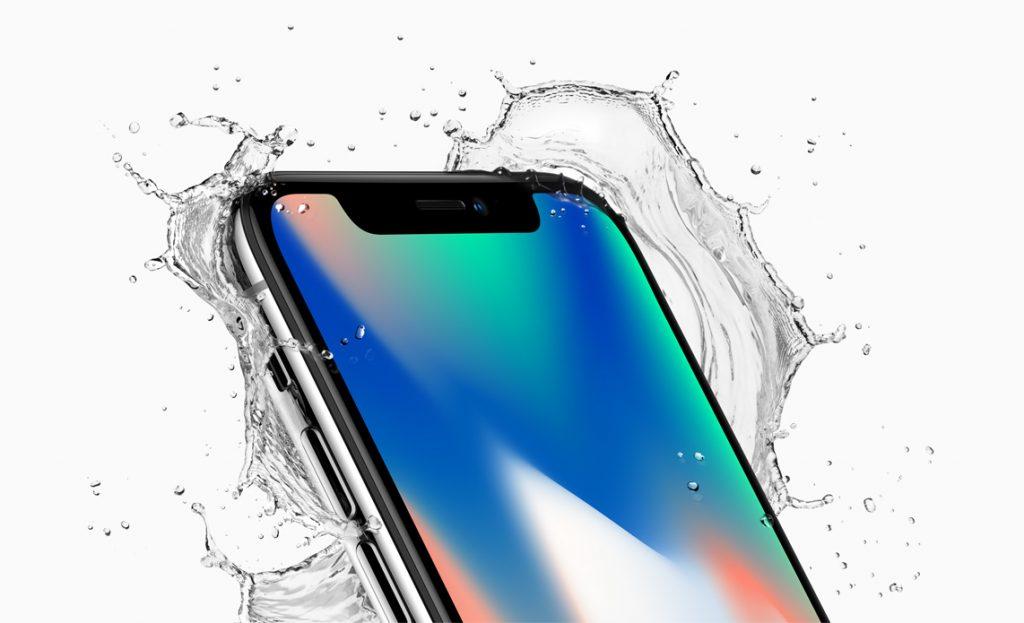 Esto cuesta cambiar la pantalla del iPhone X: iPhone X en el agua