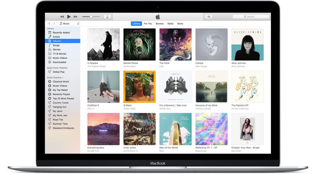 iTunes: iTunes en mac