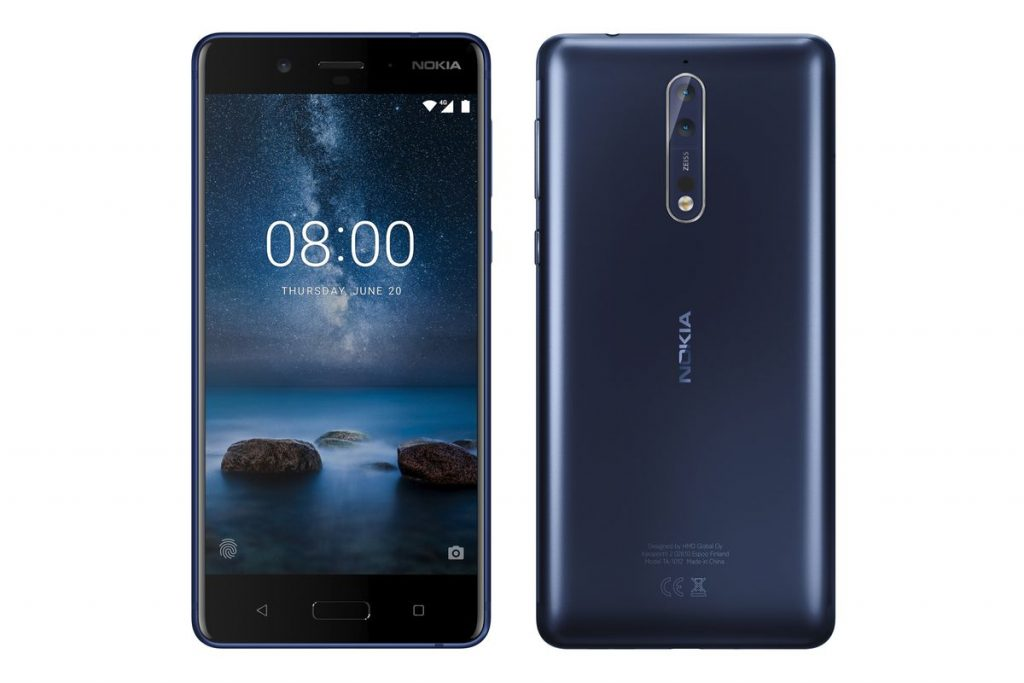 Android 8: Nokia 8