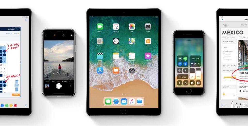 iOS 11 en un iPhone 6s: iOS 11 en iPad y iPhone