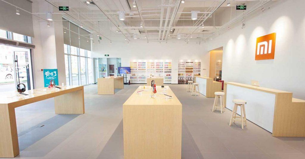 llegada de Xiaomi a España tienda