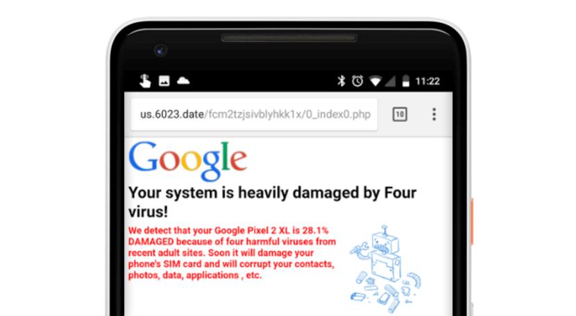 Google Chrome: Anuncio emergente