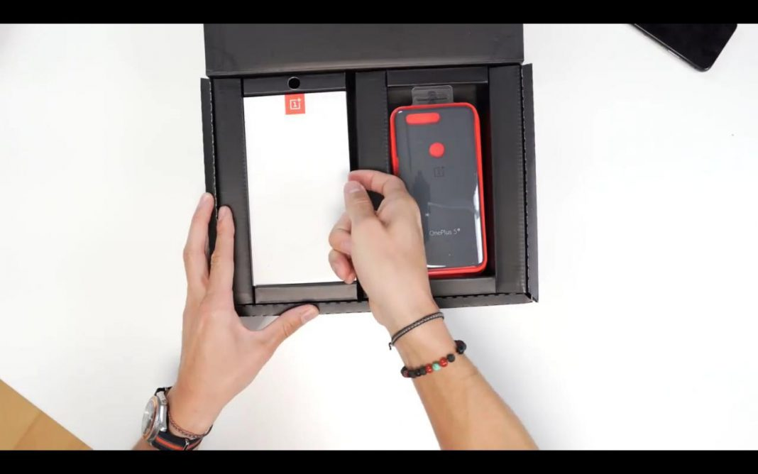 Primer unboxing del OnePlus 5T: OnePlus 5T