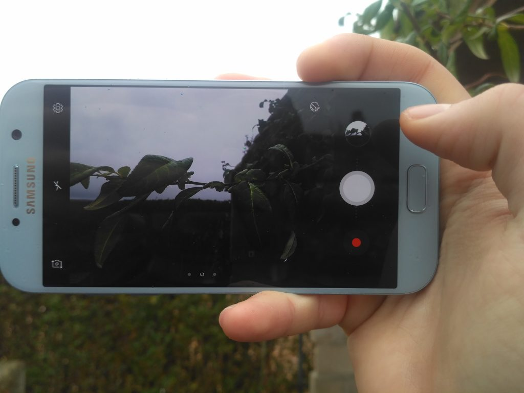 Samsung Galaxy A5 2017 camara