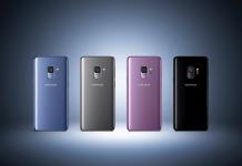 Samsung Galaxy S9 colores