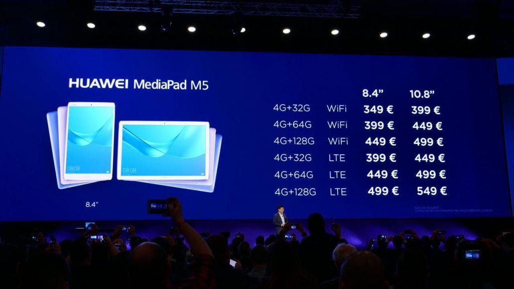 Primeras impresiones de la HUAWEI MediaPad M5 y M5 Pro