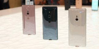 Sony Xperia XZ2 colores