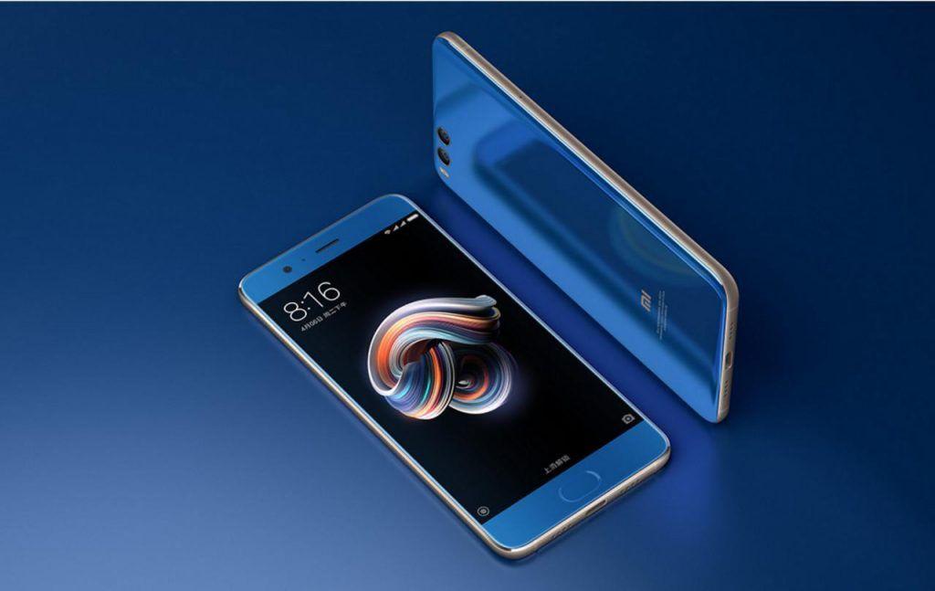 Los móviles más vendidos de Xiaomi en 2018: Xiaomi Mi Note 3