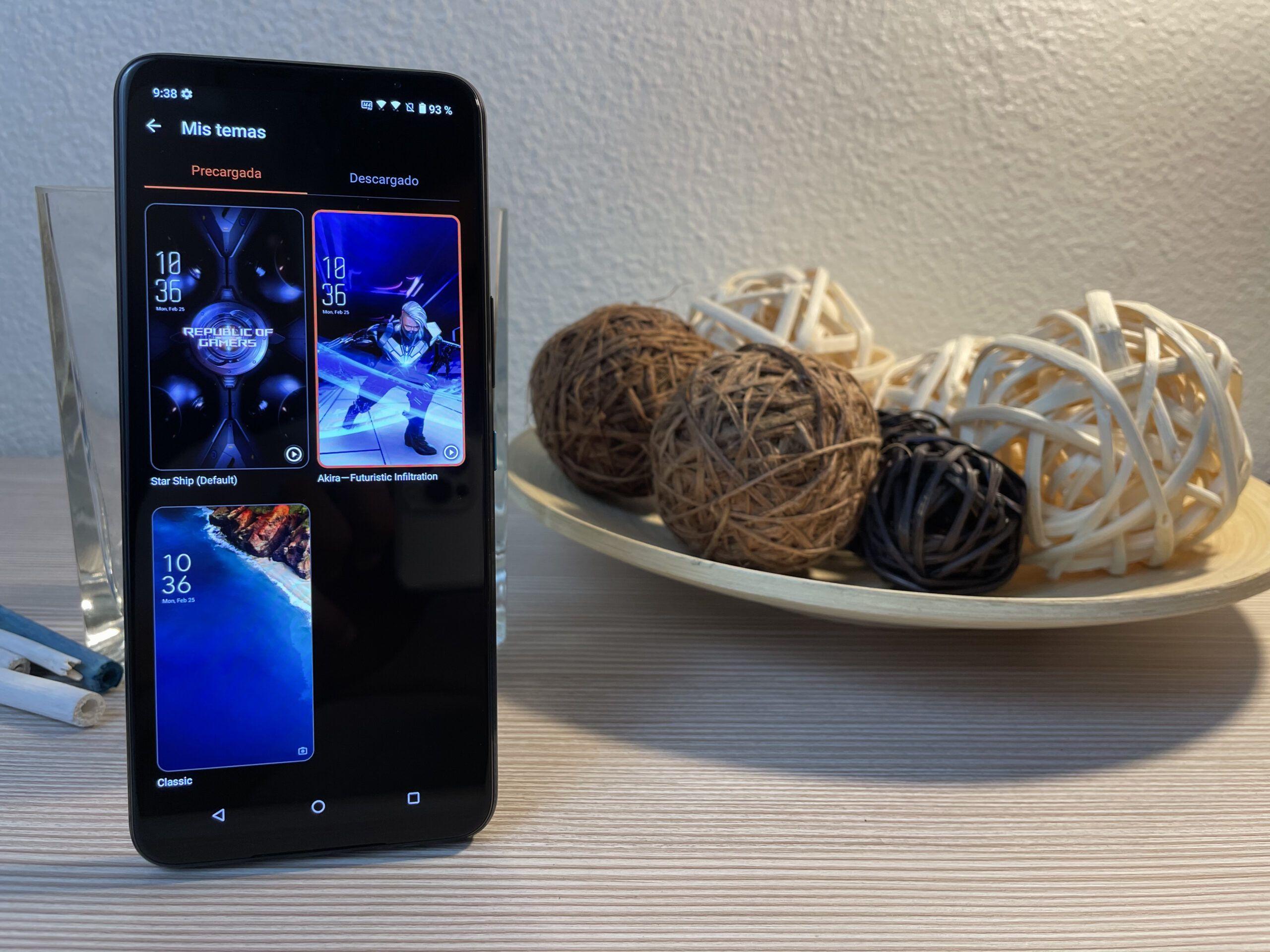 Temas Asus ROG Phone 5
